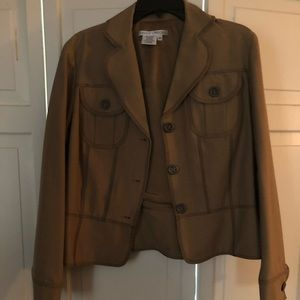 Maggy London Tan jacket
